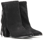 Polo Ralph Lauren Sade Fringed Suede Ankle Boots
