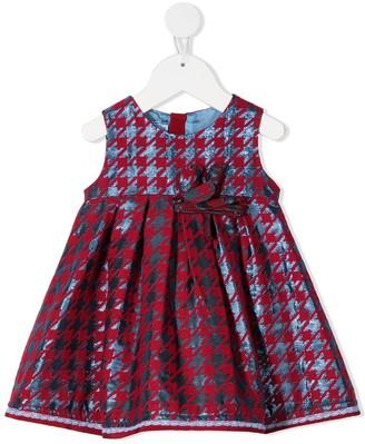 Mi Mi Sol Houndstooth Print Dress
