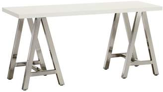 Pottery Barn Teen Customize It Simple A Frame Desk, Simply White with Galvi Base