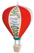 Hallmark 2016 Keepsake Ornament Congratulations Hot Air Balloon
