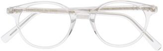 Epos Clear-Lens Round-Frame Sunglasses
