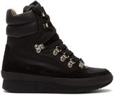 Isabel Marant Black Brendty Hiking Boots