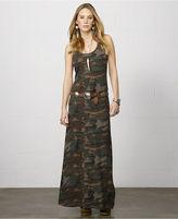 Denim & Supply Ralph Lauren Camo-Print Maxi Tank Dress