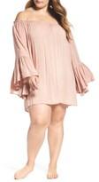 Plus Size Women's Elan Cover-Up Dress