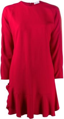 RED Valentino Contrast Collar Dress