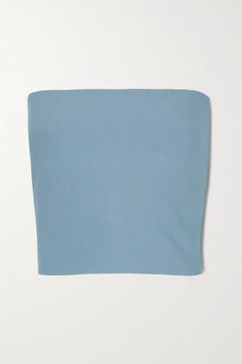 Stella McCartney - Stretch-knit Bandeau Top - Blue