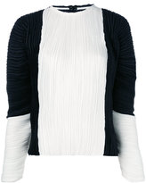 Haider Ackermann puffer sleeves pleated blouse - women - Polyester - 36