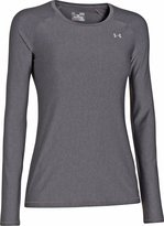 Under Armour Women's UA HeatGear Armour Long Sleeve Extra Small Carbon Heather