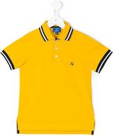 Fay Kids striped trim polo shirt