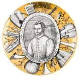 Fornasetti Piero Grandi Maestri Plate