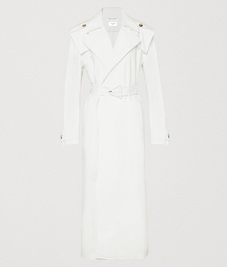 Bottega Veneta Trench In Cotton Canvas