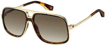 Marc Jacobs Acetate & Metal Aviator Sunglasses