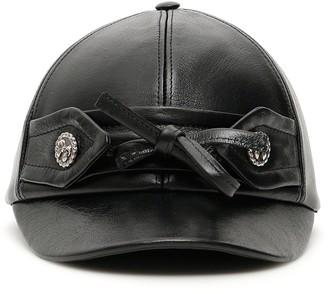 Miu Miu Bow Baseball Cap