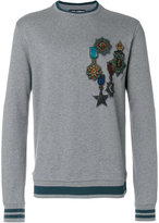 Dolce & Gabbana medal print sweatshirt