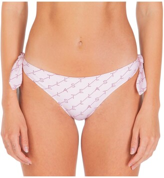 Stella McCartney Allover Logo Print Bikini Briefs