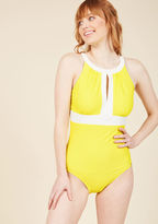 ModCloth Toes in the Sand One-Piece Swimsuit in 6