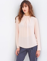 Dorothy Perkins Pleat Neck Blouse