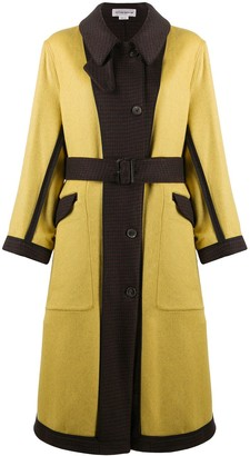 Victoria Beckham Belted Reversible Coat