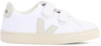 Veja Organic Cotton Canvas Strap Sneakers