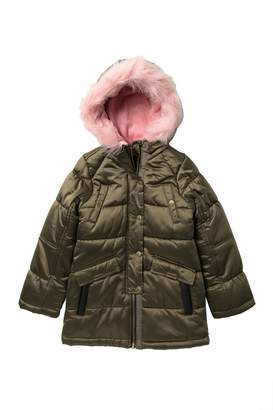 Jessica Simpson Expedition Faux Fur Trimmed Parka (Big Girls)