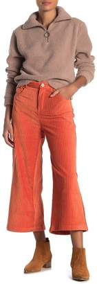 Double Zero High Rise Wide Leg Corduroy Pants