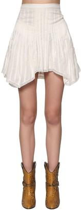 Etoile Isabel Marant Ruffled Cotton Mini Skirt