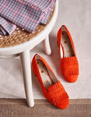 Victoria Mid Heel Loafers