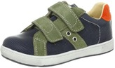 Naturino Boys Blue and With Green Velcro Strap Sneakers