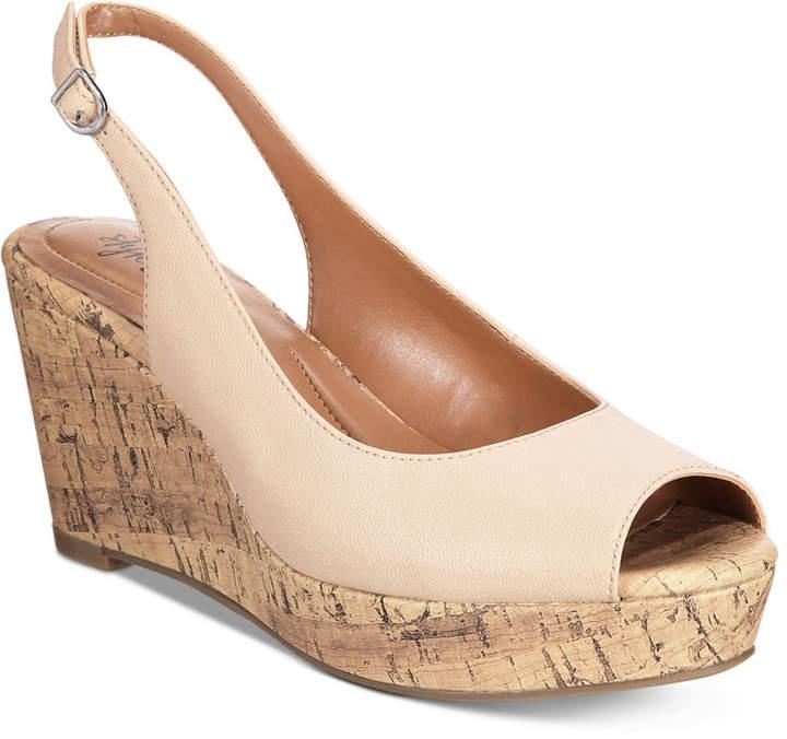 b25693442e2 Style & Co Sondire Platform Wedge Sandals, Women Shoes