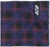 Kenzo - check patterned scarf