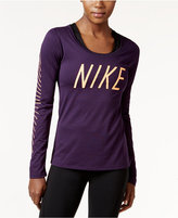 Nike Dry Legend Logo Long-Sleeve Training Top