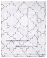 Melange Home Lattice Sheet Set