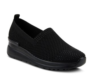 Spring Step Flexus By Fabric Slip-Ons - Cateia