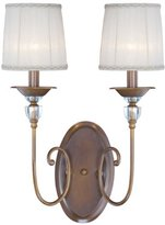 Eurofase 20305-017 Locksley 2-Light Wall Sconce, Bronze by