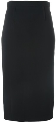Roland Mouret Rear Zip Pencil Skirt