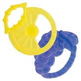 Chicco NaturalFit 2pk Lemon and Grape Shaped Silicone Teethers