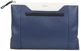 Furla Women's Fantasia XL Pochette Clutch Bag Blue
