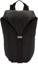 Julius Black Nylon Backpack