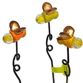 Studio M Miniature Fairy Garden Firefly Picks, 3 Piece Set