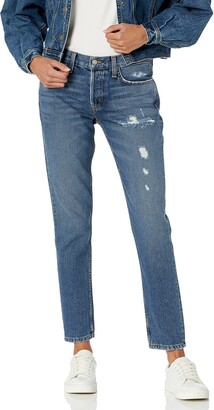 SIWY Women's Nona Mid Rise Skinny Jeans in Back in The Days 27