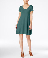 Style&Co. Style & Co. Short-Sleeve A-Line Dress, Only at Macy's
