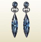Gucci Crystal Pendant Earrings