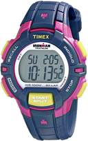 Timex Women's T5K813 Ironman Rugged 30 Mid-Size Resin Strap Watch