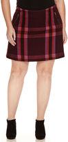 STYLUS Stylus Wool Zipped Mini Skirt