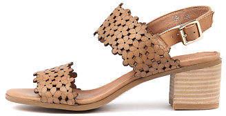 Django & Juliette New Dols Tan Womens Shoes Casual Sandals Heeled