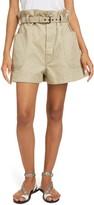 Etoile Isabel Marant Rike Paperbag Waist Shorts