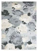 Amer Shimmer Floral 8' x 11' Area Rug in Grey