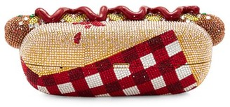 Judith Leiber Couture Hot Dog Crystal Clutch