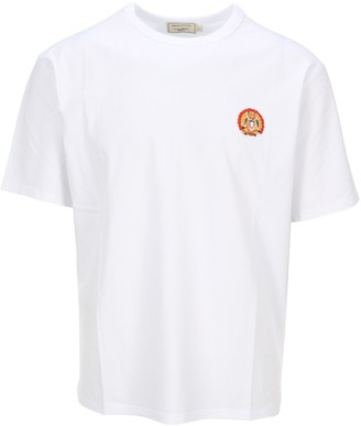 MAISON KITSUNÉ Flower Fox Patch T-Shirt
