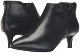 Rockport Total Motion Kalila Bootie (Black Leather) Women's Boots